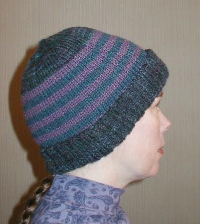 Knitting Pattern Double Layer Hat : Warm Hands Network (Home)